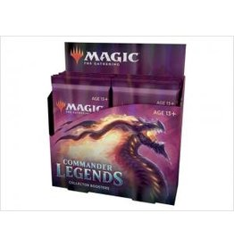 Magic COMMANDER LEGENDS COLLECTOR BOOSTER BOX