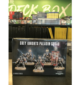 Warhammer 40K GREY KNIGHTS PALADIN SQUAD / Grey Knights Terminator Squad