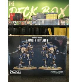 Warhammer 40K Armiger Helverins / War Dogs with War Dog Autocannon