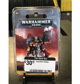 Warhammer 40K Inquisitor Coteaz