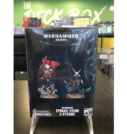 Warhammer 40K Daemonifuge – Ephrael Stern & Kyganil