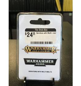 Warhammer 40K Servitors with Multi-melta