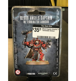 Warhammer 40K Blood Angels Librarian in Terminator Armour