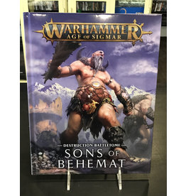 Age of Sigmar BATTLETOME: SONS OF BEHEMAT