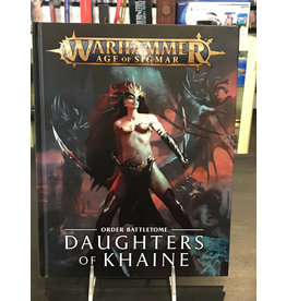 Age of Sigmar BATTLETOME: DAUGHTERS OF KHAINE (HB) ENG