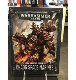 Warhammer 40K CODEX: CHAOS SPACE MARINES (ENGLISH)