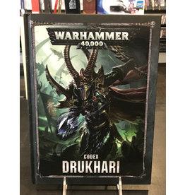 Warhammer 40K CODEX: DRUKHARI (HB) (ENGLISH)