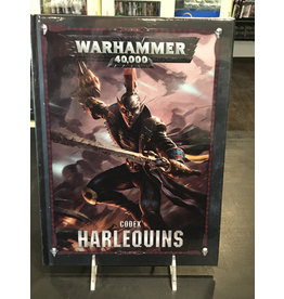 Warhammer 40K CODEX: HARLEQUINS (HB) (ENGLISH)