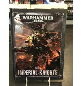 Warhammer 40K CODEX: IMPERIAL KNIGHTS (HB) (ENGLISH)