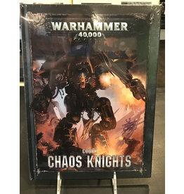 Warhammer 40K CODEX: CHAOS KNIGHTS (HB) (ENGLISH)