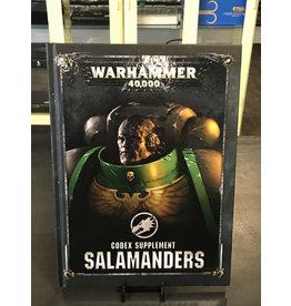 Warhammer 40K CODEX: SALAMANDERS (ENGLISH)