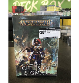 Age of Sigmar Cities of Sigmar Warscroll Cards