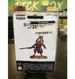Age of Sigmar Bloodmaster Herald of Khorne