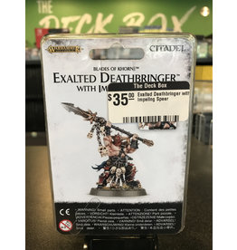 Age of Sigmar Exalted Deathbringer with Impaling Spear