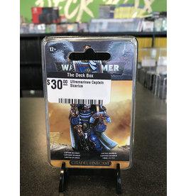Warhammer 40K Ultramarines Captain Sicarius