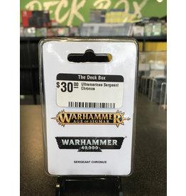 Warhammer 40K Ultramarines Sergeant Chronus