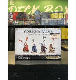 Age of Sigmar Collegiate Arcane Mystic Battle Wizards