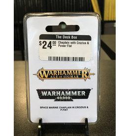 Warhammer 40K Chaplain with Crozius & Power Fist