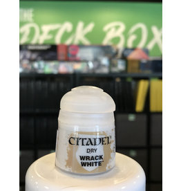 Games Workshop Paint/Supplies DRY: WRACK WHITE
