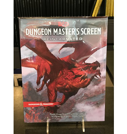 Dungeons & Dragons DND RPG DUNGEON MASTER'S SCREEN REINCARNATED