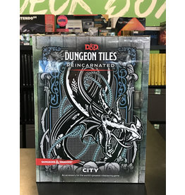 Dungeons & Dragons DND RPG DUNGEON TILES REINCARNATED - CITY