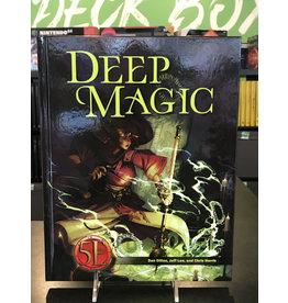 5E Compatible Books DEEP MAGIC FOR 5TH EDITION HC