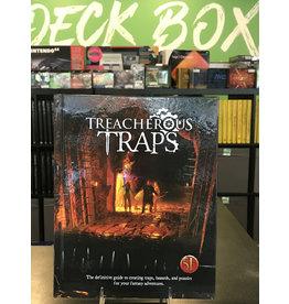 5E Compatible Books TREACHEROUS TRAPS HC