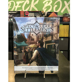 Role Playing Games SPECTACULAR SETTLEMENTS HC