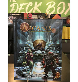 5E Compatible Books ARCANIS 5E THE SSETHREGORAN EMPIRE HC