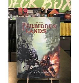 Forbidden Lands FORBIDDEN LANDS RPG RAVEN'S PURGE HC