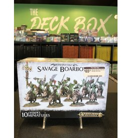 Age of Sigmar Savage Boarboy Maniaks / Savage Boarboys