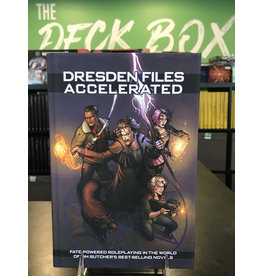 Fate Core System Dresden Files Accelerated