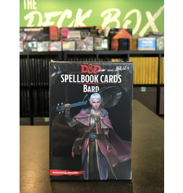 Dungeons & Dragons DND SPELLBOOK CARDS BARD 2ND EDITION