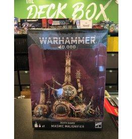 Warhammer 40K MIASMIC MALIGNIFIER
