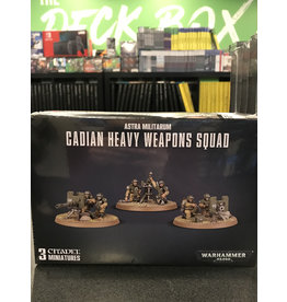 Warhammer 40K CADIAN HEAVY WEAPON SQUAD