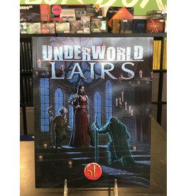 5E Compatible Books UNDERWORLD LAIRS 5E