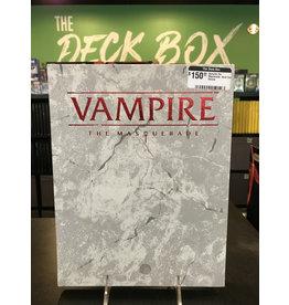 World of Darkness Vampire the Masuerade: Hard Cover Deluxe