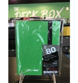 2 Pocket Binder UP BINDER PRO ECLIPSE 2PKT LIME GREEN