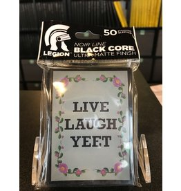 Sleeves LEGION SLEEVE DOUBLE-MATTE LIVE LAUGH  YEET 50CT