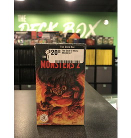 Dungeons & Dragons The Deck Of Many: Monsters 2