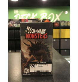 Dungeons & Dragons The Deck Of Many: Monsters