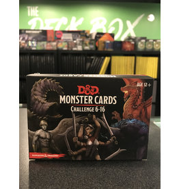 Dungeons & Dragons DND MONSTER CARDS: CHALLENGE 6-16