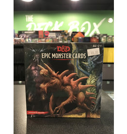 Dungeons & Dragons DND EPIC MONSTER CARDS