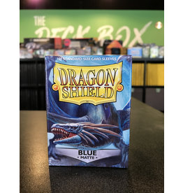 Dragon Shield DRAGON SHIELD SLEEVES MATTE BLUE 100CT