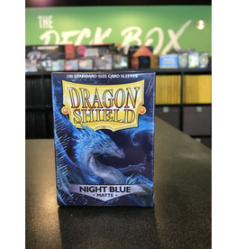 Dragon Shield DRAGON SHIELD SLEEVES MATTE NIGHT BLUE 100CT