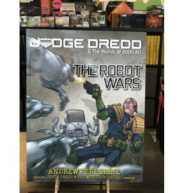 D20 System JUDGE DREDD AND THE WORLDS OF 2000 AD:  ROBOT WARS