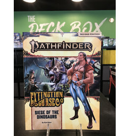 Pathfinder 2E 2E EXTINCTION CURSE 4: SIEGE OF THE  DINOSAURS