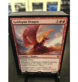 MTG Goldspan Dragon  (KHM)