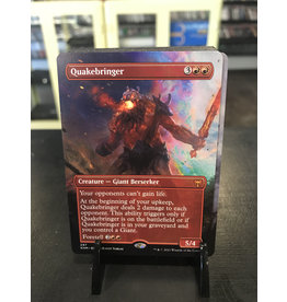 MTG Quakebringer  (KHM)(Borderless)