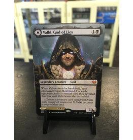 MTG Valki, God of Lies // Tibalt, Cosmic Impostor  (KHM)(Borderless)